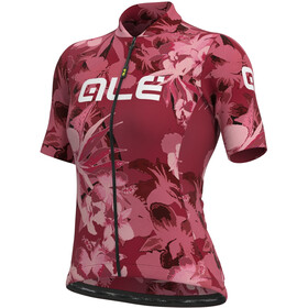 Alé Cycling Solid Bouquet SS Jersey Women, bordeaux